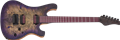 Schecter USA CUSTOM SHOP Masterworks  006 Custom Buckeye Burl Purple Burst NAMM 6-String Electric Guitar 2020