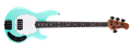 Ernie Ball/Music Man Stingray 4H Special Cruz Teal 4-String Electric Bass Guitar 2018