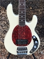 Ernie Ball/Music Man BFR Old Smoothie Translucent Cream 36/90 4-String Electric Bass Guitar 2018