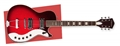 Silvertone  1423 Red Silver Flake Burst 6-String Electric Guitar