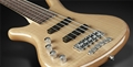 Warwick Rockbass Corvette Premium Natural Transparent  Left Handed 5-String Electric Bass 2020
