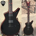 Dean USA Rob Barrett Custom Red Iron Cross Cadi     w/ LEDs 6-String Electric Guitar