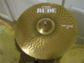 Paiste Rude 18 inch Thin Crash  Cymbal