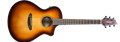 Breedlove Discovery Concert CE Sunburst 6-String Acoustic Electric Guitar