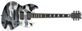 ESP E-II Viper Urban Camo  6-String Electric Guitar 2019