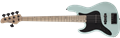 Schecter DIAMOND SERIES J-5 Sea Foam Green Left Handed 5-String Electric Bass Guitar 2019