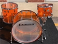 Ludwig USA  Amber Vistalite 3-piece Shell Pack