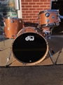 USED DW Artist Collector's Maple  Champagne Glass Sparkle 3-Pc Shell Kit