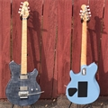 Ernie Ball/Music Man BFR Axis Steel Blue 43/75 6-String Electric Guitar 2018