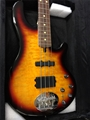 USED LAKLAND  Skyline 44-02 DELUXE  Three Tone Sunburst/Rosewood    drop D tuner  4-String Electric Bass Guitar