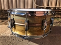 "Ludwig USA LB-464R  Supraphonic Raw Brass Shell Imperial Lugs 6 1/2x14"" Snare Drum 2018"
