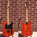 Schecter USA CUSTOM SHOP Masterworks PT   Trans Orange     6-String Electric Guitar