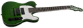LTD SIGNATURE SERIES SC-607 Baritone Green Sparkle 7-String Electric Guitar