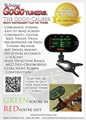 GoGo Caliber Clip-on Guitar Tuner
