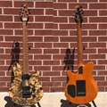Ernie Ball/Music Man BFR Axis Super Sport 65/85 Buckeye Burl 6-String Electric Guitar 2018