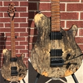 Ernie Ball/Music Man BFR Axis Super Sport  68/85  Buckeye Burl 6-String Electric Guitar 2018