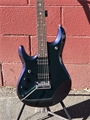 Ernie Ball/Music Man John Petrucci Piezo - Mystic Dream Match Head JP Inlays  Left Handed 6-String Electric Guitar