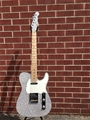 G&L USA ASAT Classic Silver Metal Flake Double Bound 6-String Electric Guitar