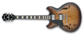 IBANEZ ASV10ALTCL Tobacco Burst Low Gloss Left Handed 6-String Electric Guitar