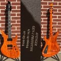 USED   Schecter USA CUSTOM SHOP Production Series Gen-1 Prototype Avenger Trans Orange   6-String Electric Guitar
