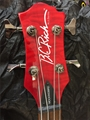 USED BC RICH NJ Series Mockingbird Trans Red 4-String Bass Guitar