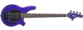 Ernie Ball/Music Man Bongo-5  HH  Firemist Purple 5-String Electric Bass Guitar 2018