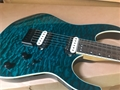 Schecter DIAMOND SERIES PROTOTYPE Banshee-6 Trans Aqua EMG 6-String Electric Guitar