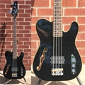 USED Schecter DIAMOND SERIES Baron-H Vintage Black 4-String Electric Bass Guitar