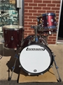 Ludwig LC179X Breakbeats by Questlove Burgundy Sparkle Mobile Drum Kit