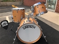 Gretsch USA Broadkaster 3-pc. shell kit - Natural Satin Oil