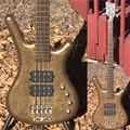 WARWICK   Custom Shop  Corvette $$ Bronze finish   4-String Electric Bass Guitar