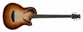 Ovation CEB44X-7C  Cognac Burst/Natural Quilted Gloss Acoustic Electric Bass Guitar