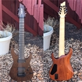 USED Schecter USA Custom Shop  Masterworks Banshee-8  CET Wenge top 8-String Electric Guitar 2013