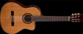 Dean CSCM Espana Solid Top Mahogany  Cutaway Classical Acoustic Electric  Guitar