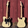 G&L USA CUSTOM SHOP ASAT Classic-S Alnico Nitro Vintage White  6-String Electric Guitar 2018