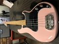 G&L CUSTOM SHOP USA LB-100   Nitro Shell Pink  4-String Electric Bass Guitar