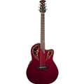 Ovation  CE44-RR CELEBRITY  ELITE Ruby Red  6-String Acoustic Electric Guitar