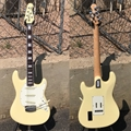 Ernie Ball/Music Man  BFR LTD Cutlass SSS Cornsilk White maple/rosewood  6-String Electric Guitar 2018