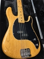 Ernie Ball/Music Man Cutlass Bass Classic Natural 4-String Electric Bass Guitar