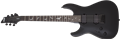 Schecter DIAMOND SERIES Damien-6 Satin Black  Left Handed 6-String Electric Guitar 2020