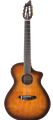 Breedlove Discovery Concert Satin Bourbon Nylon CE       6-String Classical Acoustic Electric Guitar