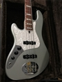 LAKLAND USA SERIES Darryl Jones Inca Silver/Rosewood Left Handed 4-String Electric Bass Guitar