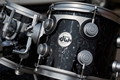"DW USA Collectors Pure Maple | Black Velvet w/ Satin Hardware | 4pc Shell Pack | 22""/16""/12""/10"""