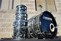 USED 1970 USA Ludwig Classic Maple Ringo Black Oyster Pearl 4pc Shell