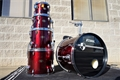 USED Tama Imperial Star Wine Red 5pc Shell Pack (NO SNARE)