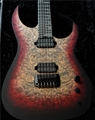 Schecter USA CUSTOM SHOP Keith Merrow KM-6 MK-III Pro Bloodlust Crystal Burl 6-String Electric Guitar