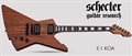 Schecter    DIAMOND SERIES  Special Edition E-1 Koa   6-String Electric Guitar