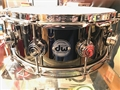 "DW USA Collectors 5 1/2x14"" Black Nickel over Brass Snare Drum"