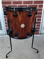 "USED DW USA Collector's Exotic Ebony 14x16"" Floor Tom"