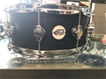 "DW Design 5x14"" 10-lug Flat Black Satin Snare Drum"
